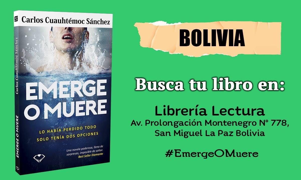 Emerge o muere bolivia
