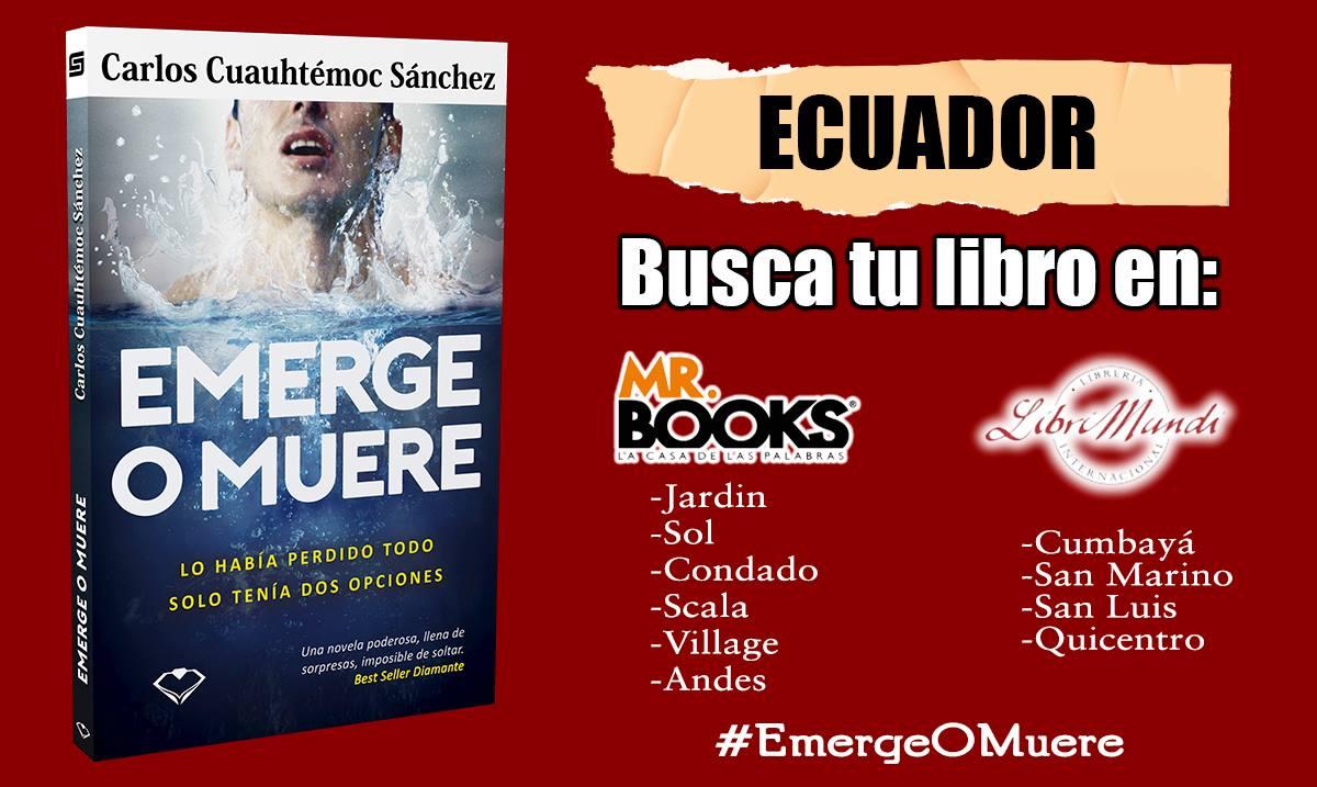 Emerge o muere ecuador